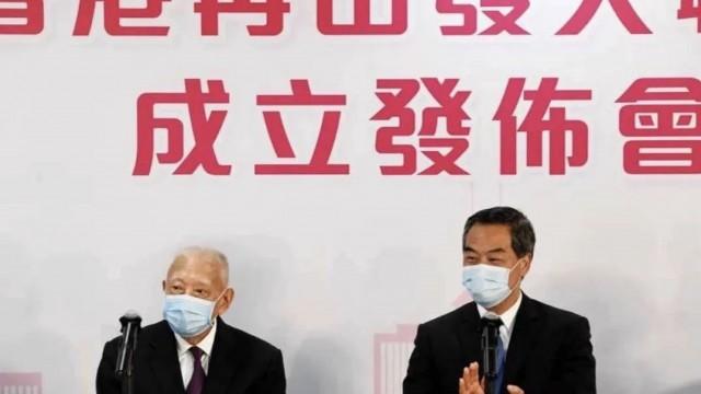 董建華 梁振英: 香港再出發